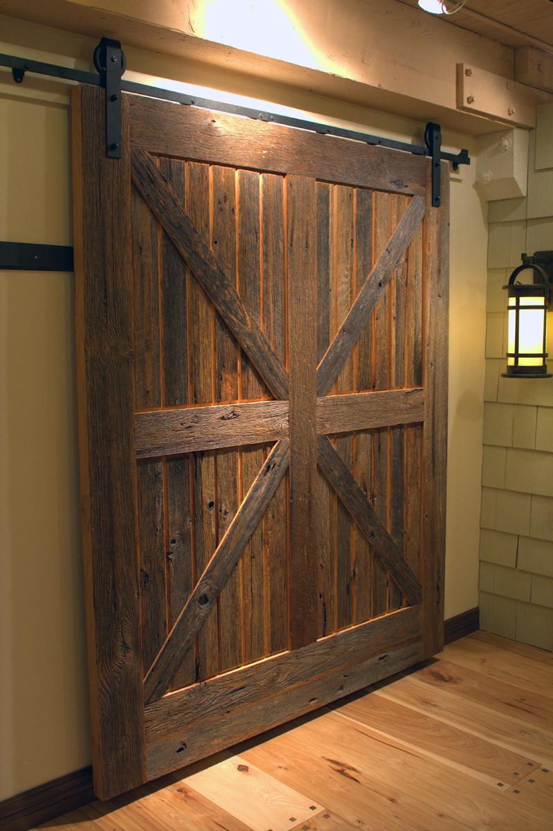 Custom size doors thickness width and height sun for Custom barn doors